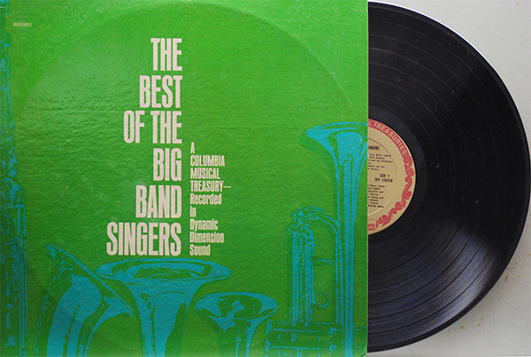 Best Of Big Band Singers Uncle Eddies Record Collection